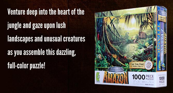 Hidden Expedition: Amazon Jigsaw Puzzle