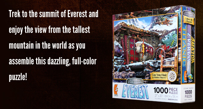 Hidden Expedition: Everest Jigsaw Puzzle