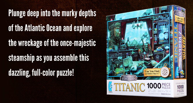 Hidden Expedition: Titanic Jigsaw Puzzle